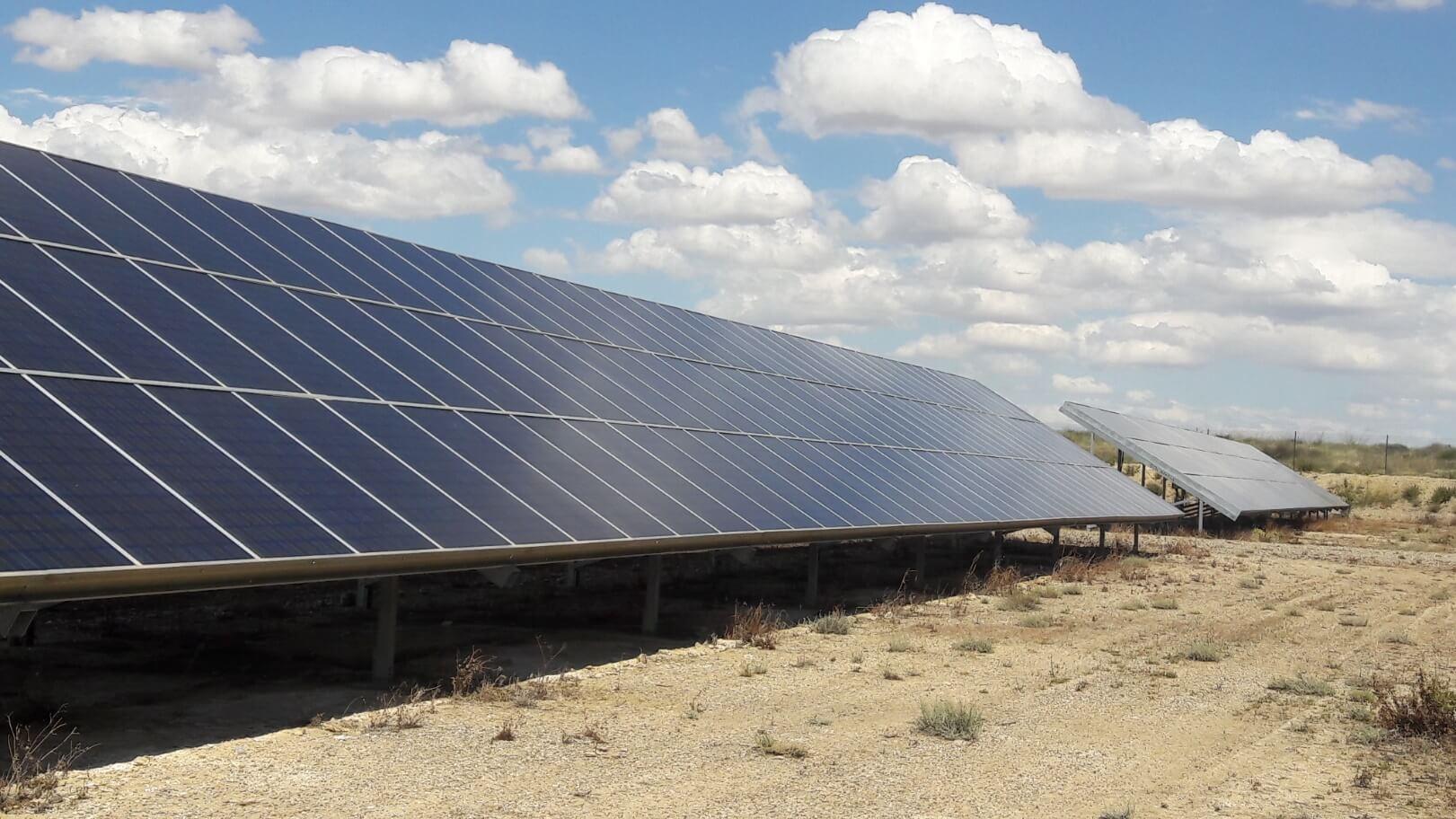 Arbanta PV Plant. Parque Solar. Solartia