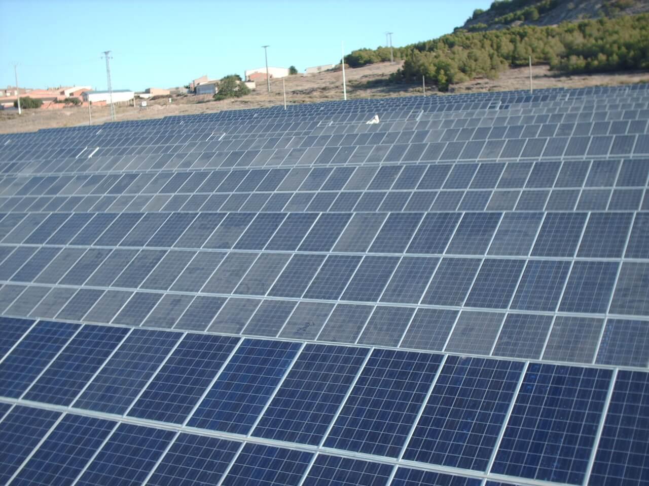 La Cerradilla PV Plant. Parque Solar. Solartia