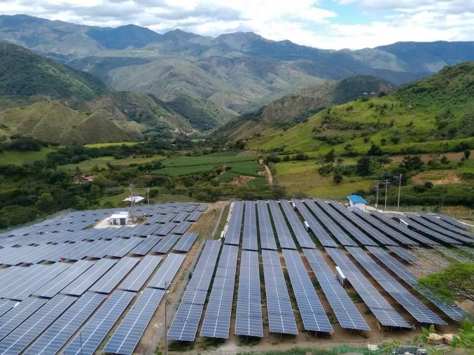 Loja Energy. Parque Solar. PV Plant.