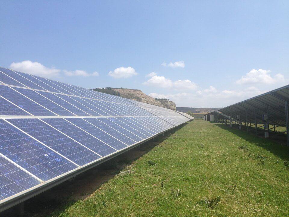 Sartaguda, la Cerradilla Parque solar