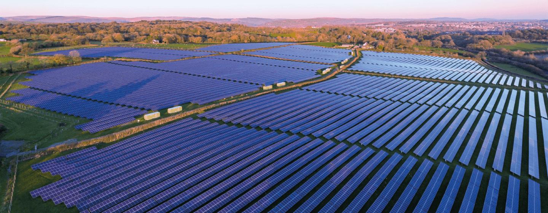 Parque Solar Fotovoltaico. PV Plant