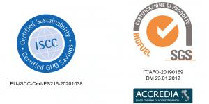 ISCC. SNC. Certification. Certificación