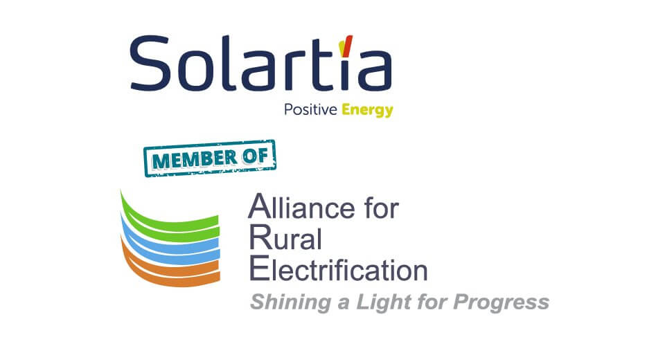 Solartia, miembro de Alianza por la Electrificación Rural, member of Alliance for Rural Electrification