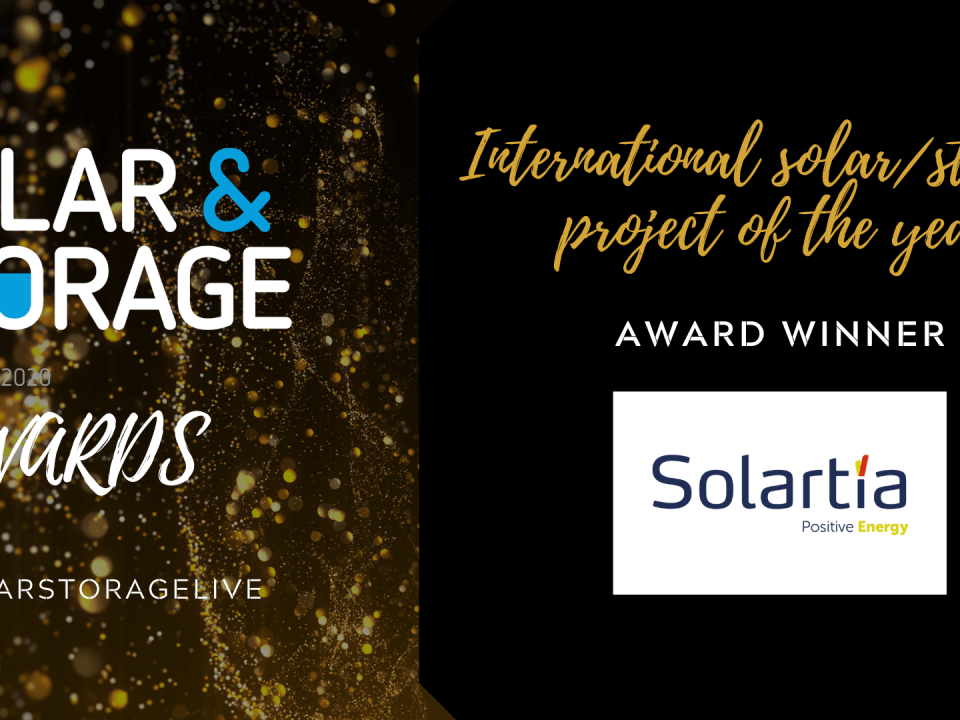 International solar & storage project of the year