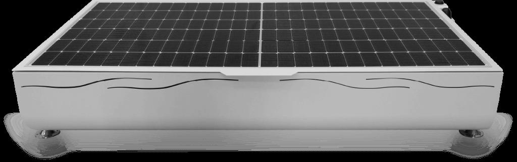 ARCA: Generador Solar Aislado de Solartia. Solar PV Generator. Vista frontal
